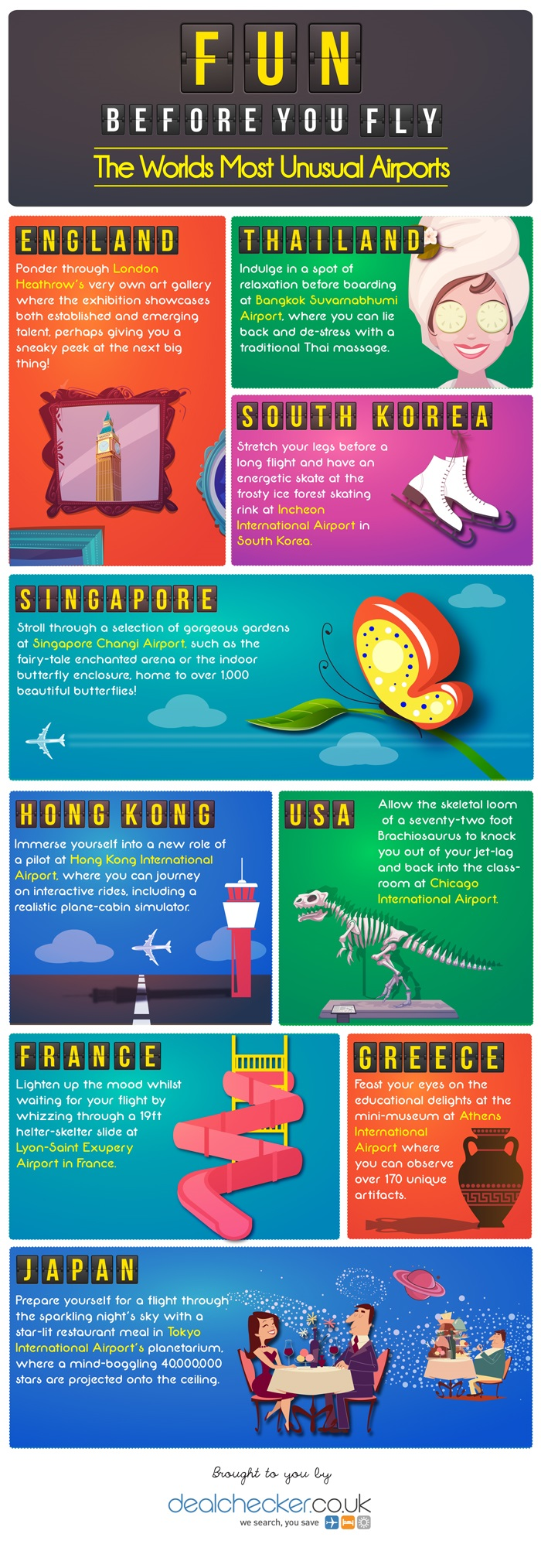 Infographic: Fun Before You Fly- The World's Most Unique Airports