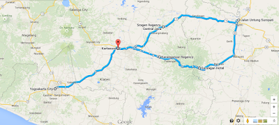 Perjalanan dari Yogyakarta - Ngawi - Yogyakarta