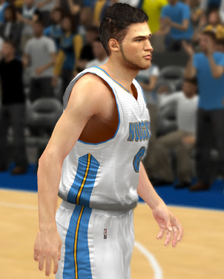 NBA 2K13 Danilo Gallinari Cyberface Patch