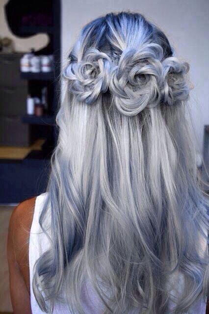 Peinado 3 Flores