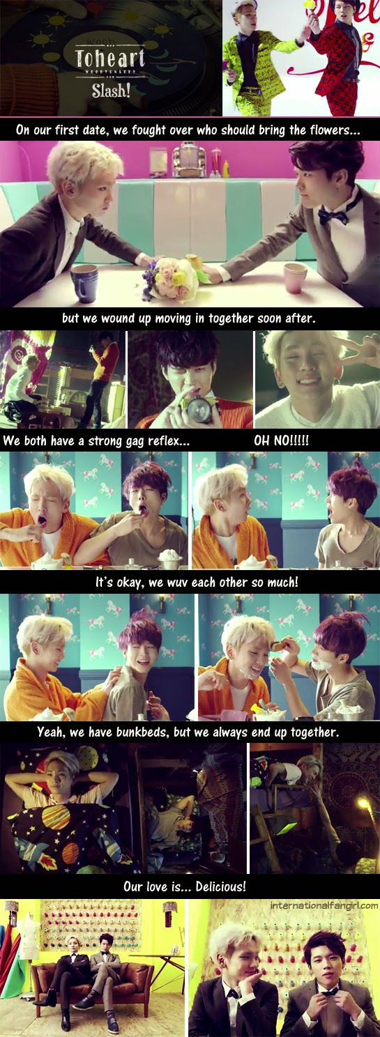 WooHyun and Key's slashy moments in Delicious.