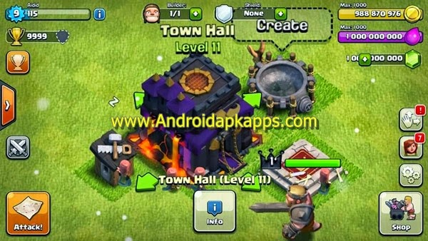 Clash Of Clans Mod Unlimited Money 711 Games For