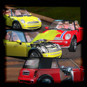 "Free scrapbook ""Cars"" from mgtcsdigitalartstuff"
