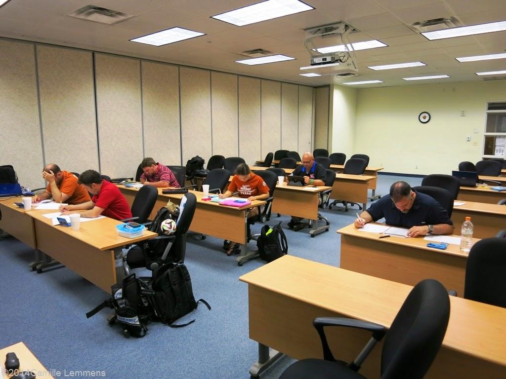 PADI IDC, theory exams