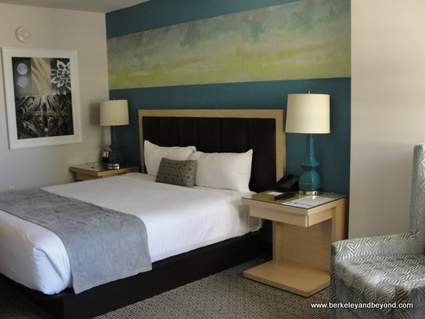guest room in Downtown Grand Hotel in Las Vegas, Nevada