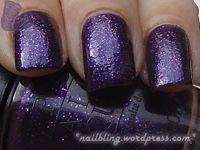OPI Ink Swatch.