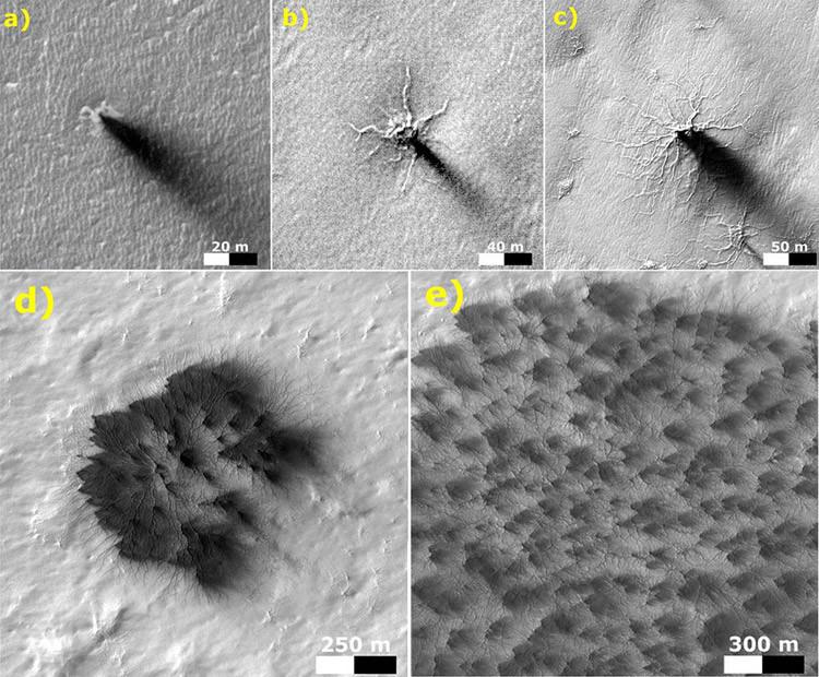 Las arañas de Marte