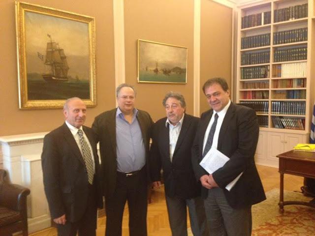 Στον Υπ. Εξωτερικών βρέθηκε το Παγκόσμιο Συμβούλιο Ποντιακού Ελληνισμού