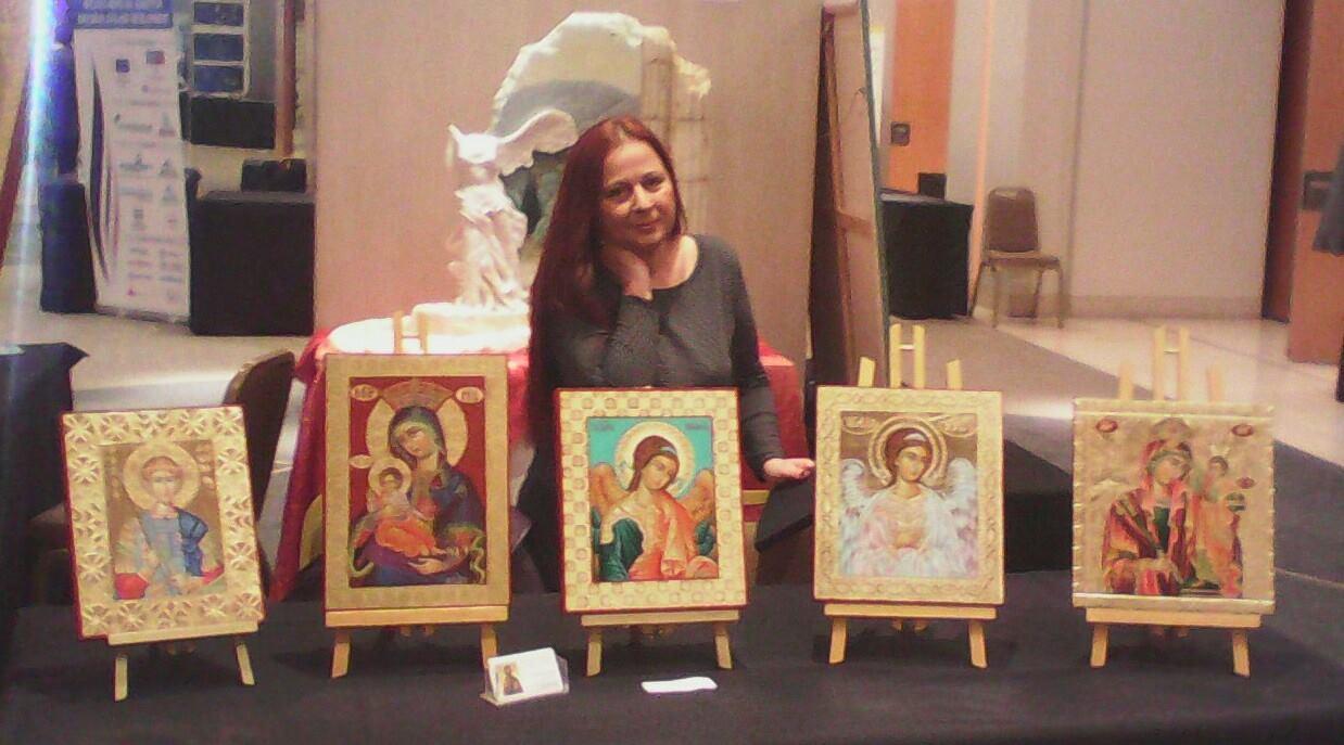 Σούλα Σταμάτη-Μία σπουδαία Αγιογράφος
