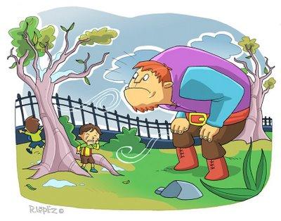 El guila cuento de navidad el gigante ego sta de for El jardin del gigante