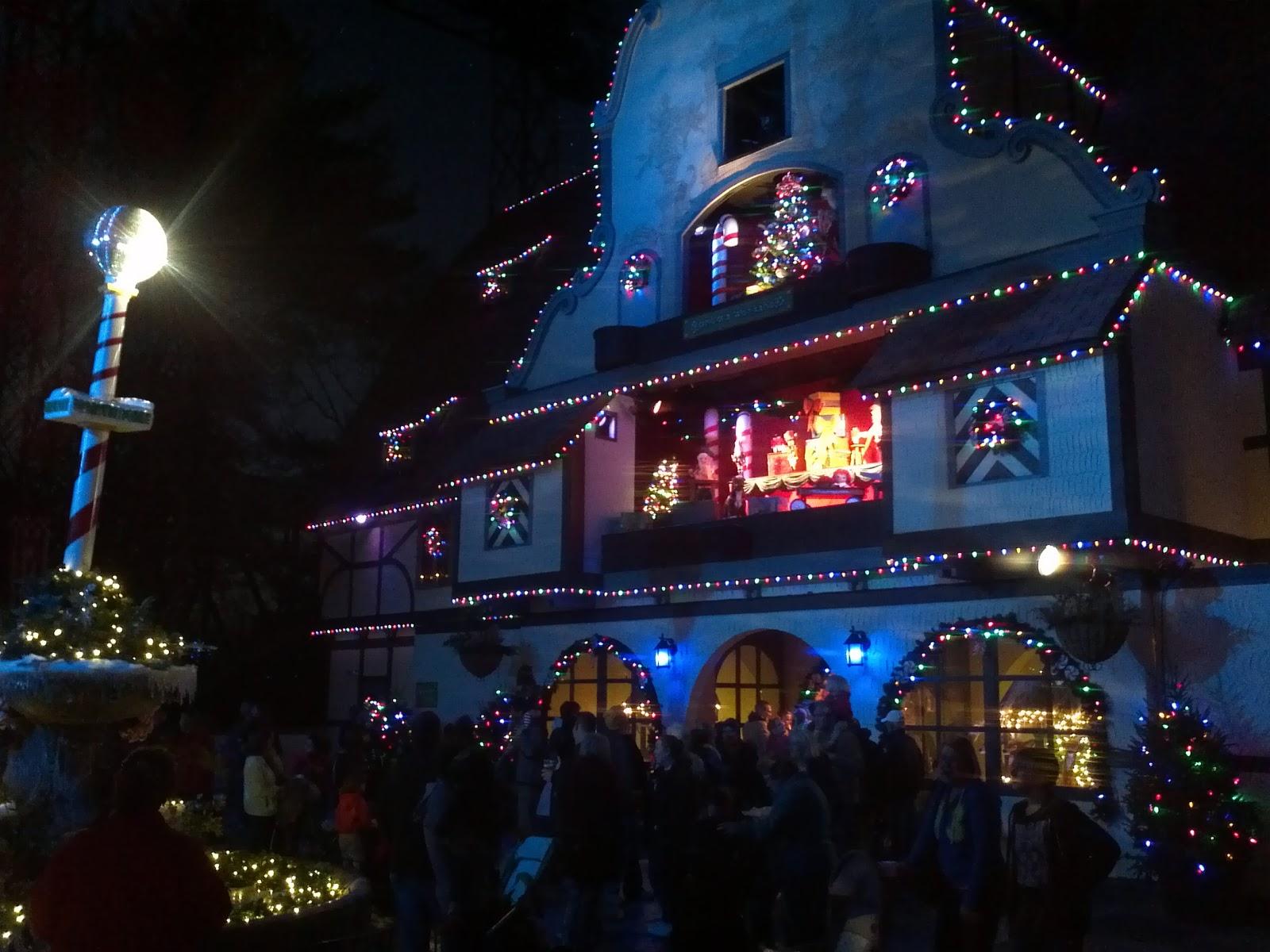 Suburban Adventure Guy Christmas Town Busch Gardens