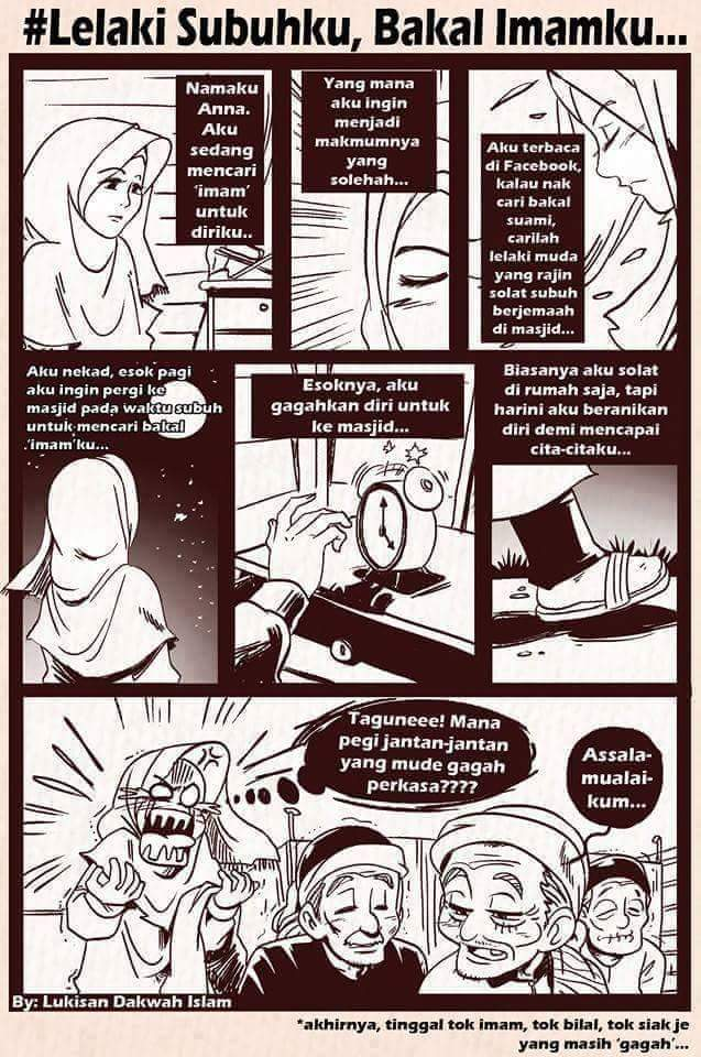 Mencari Calon Suami Ketika Subuh!