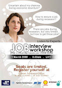 Job Interview Workshop poster