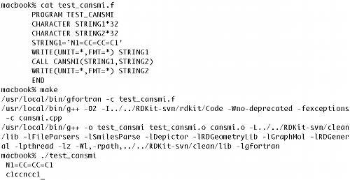 Noel O'Blog: 2nd RDKit UGM gives rise to Fortran bindings