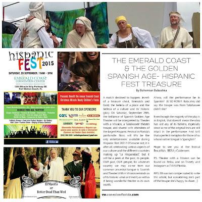 Babushka,TWAM,El Muerto,HispanicFest2015,Emerald Coast Fla