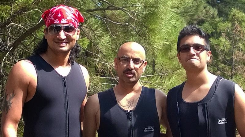 Best Rafting experience, Indian family outings in USA, Things to do near Seattle, Men in wet suits