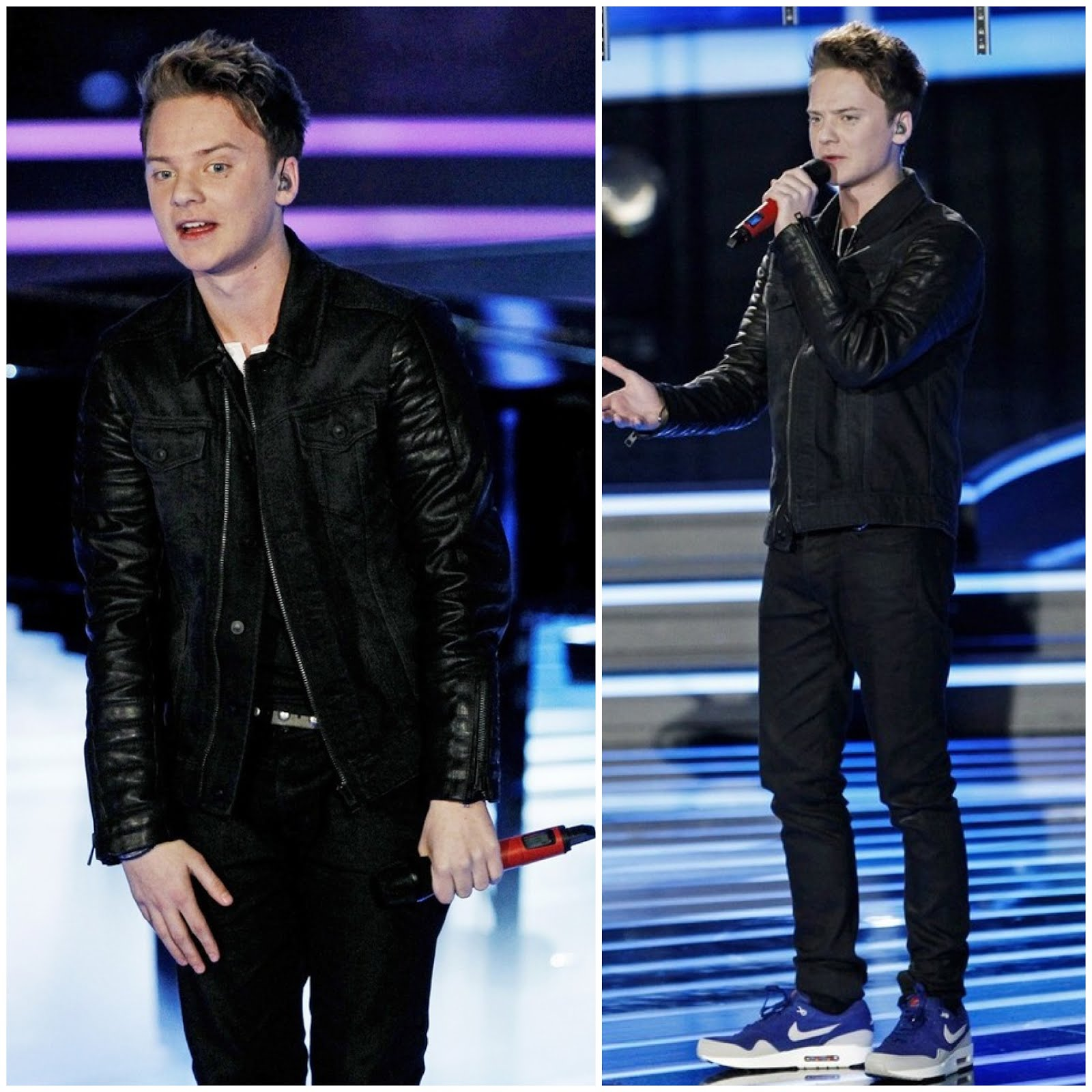 00O00 London Menswear Blog Conor Maynard in All Saints - Italian X-Factor show