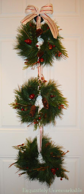 Easy Triple Wreath Tutorial