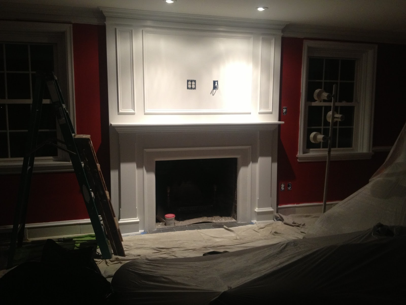 Queen Emma Designs: Fireplace Makeover Remodel!