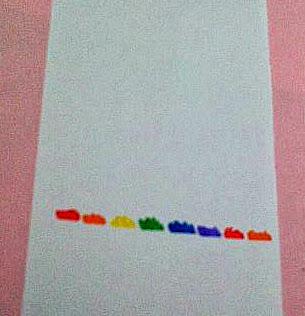 cara membuat pelangi dengan kromatografi