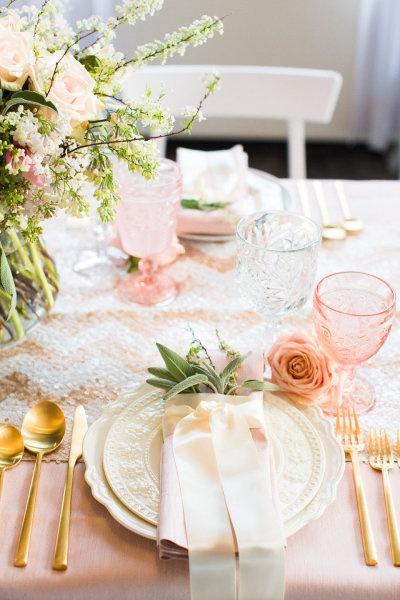 Lamb Amp Blonde Wedding Wednesday Pink Loves Gold