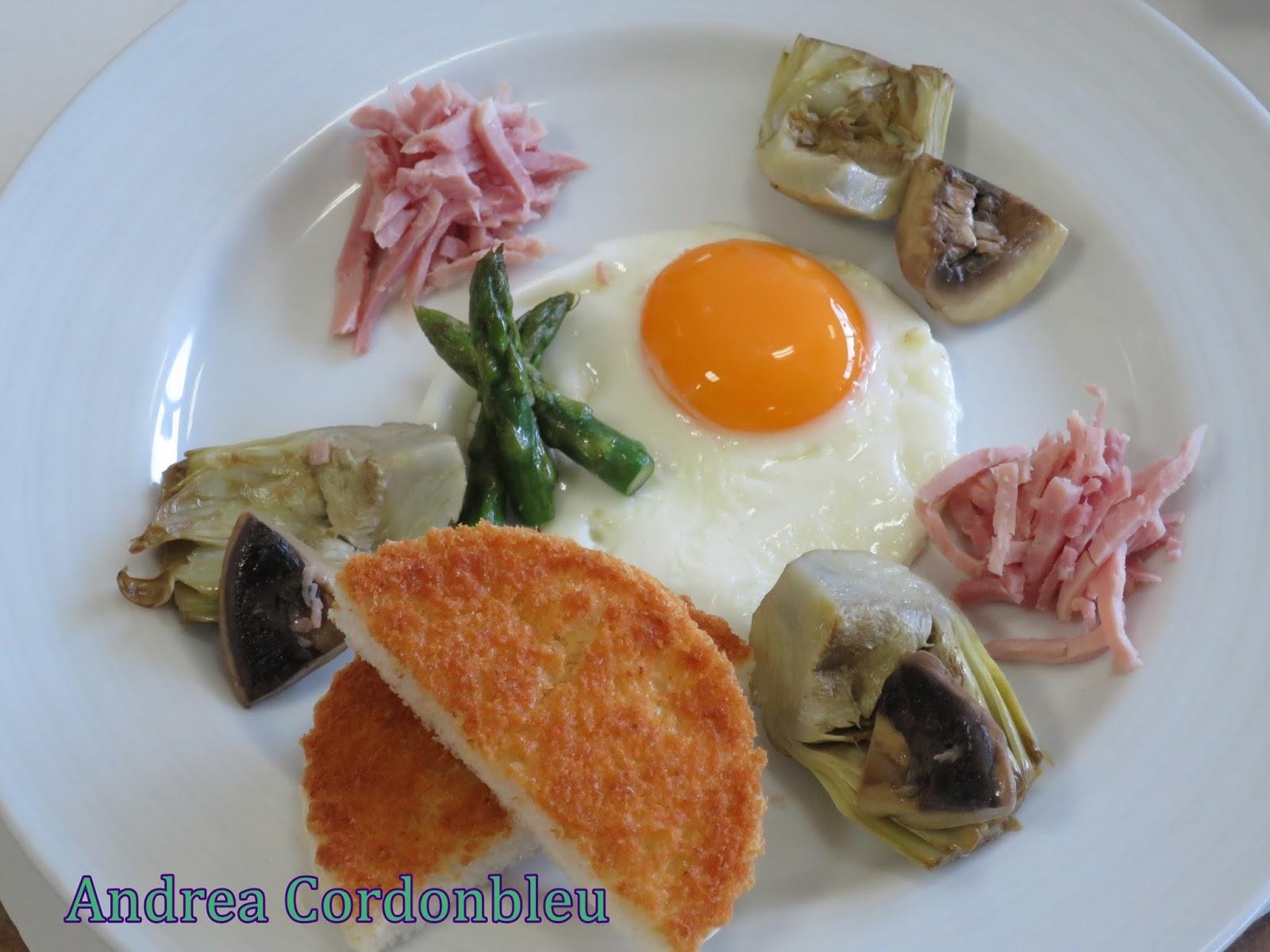 cordonbleu huevos a la poele a la condal con salsa holandesa sin gluten. Black Bedroom Furniture Sets. Home Design Ideas
