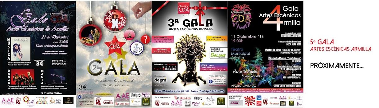 Galas Artes Escénicas