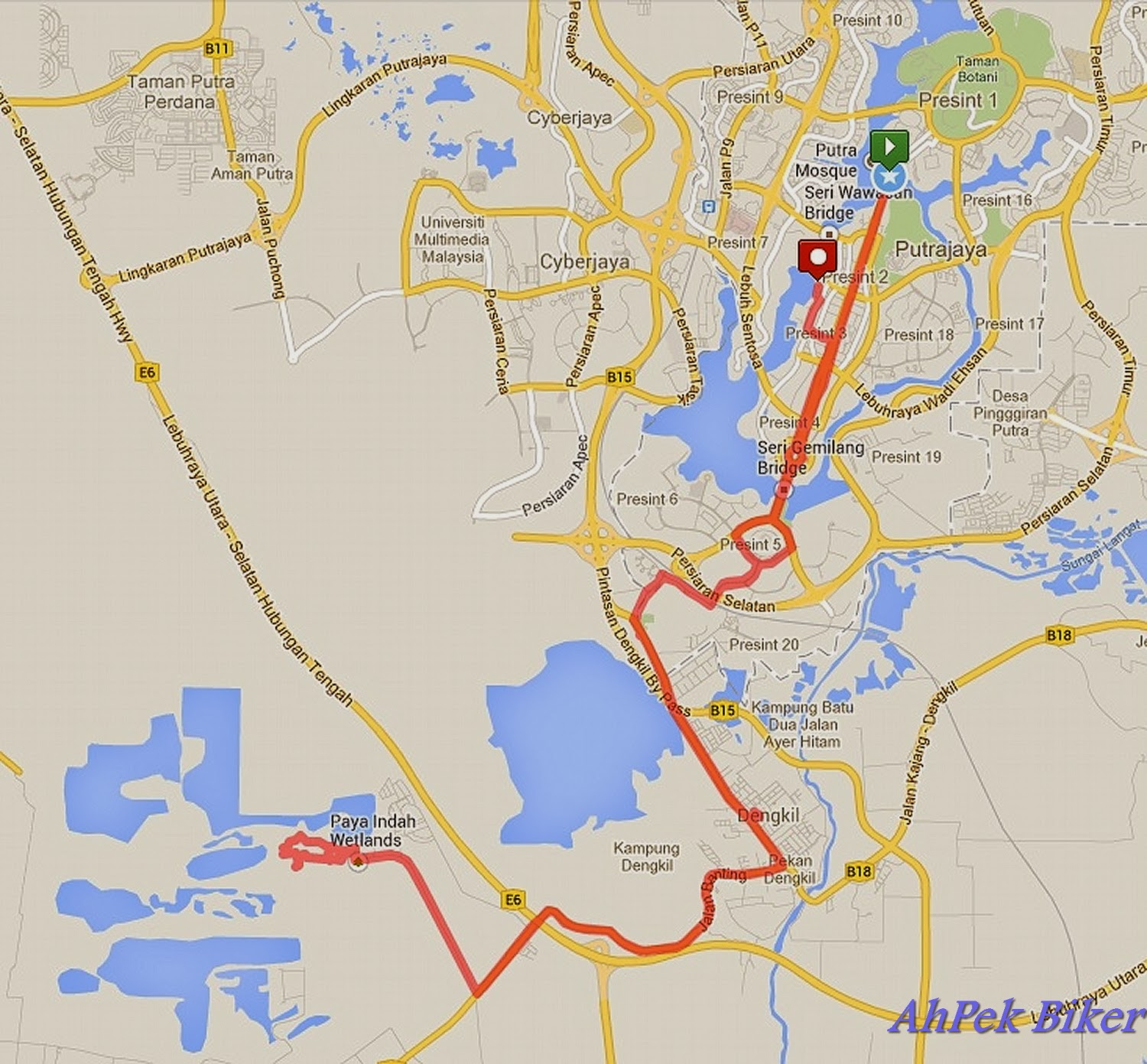 putrajaya how to get there