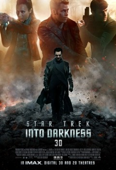 Star Trek Into Darkness 2013 poster