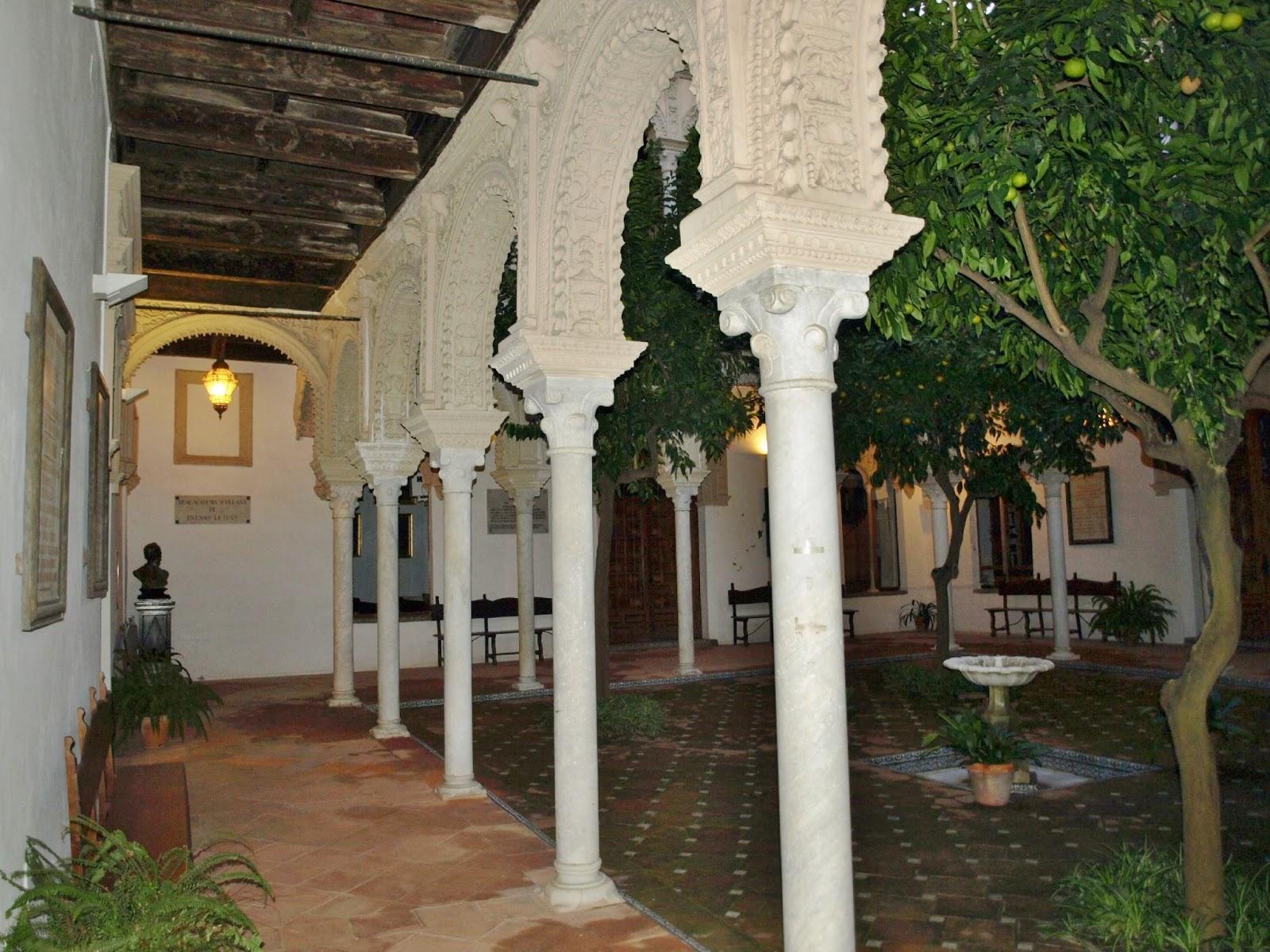 Sevilla Daily Photo: La Casa de los Pinelo (5): el patio central.