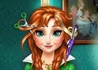 Disney Frozen Anna real haircuts