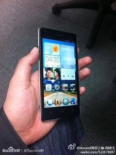 Spesifikasi dan Harga Huawei Ascend G700, Phablet Quad Core 5 Inci