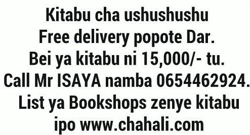 Call 0654462924.