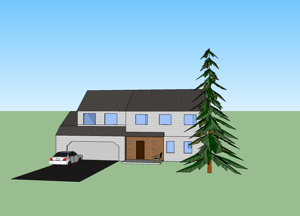 Reliable index image google sketchup houses for Google house plans