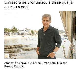 José Mayer é acusado de assédio por figurinista; Globo tomará medidas