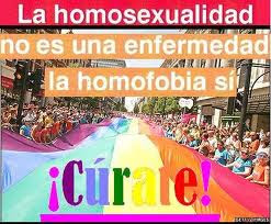 LA HOMOSEXUALIDAD NO ES UNA ENFERMEDAD LA HOMOFOBIA SI ¡CUARATE!