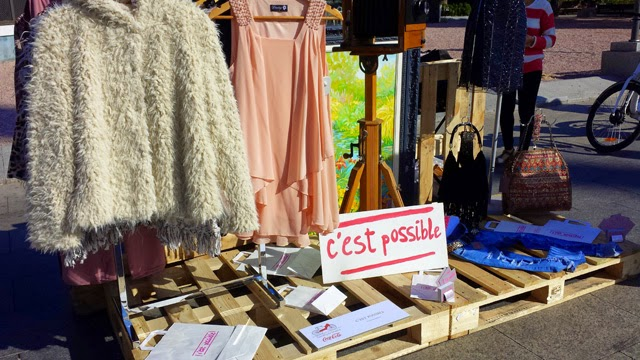 c'est possible pasarela de moda en bici