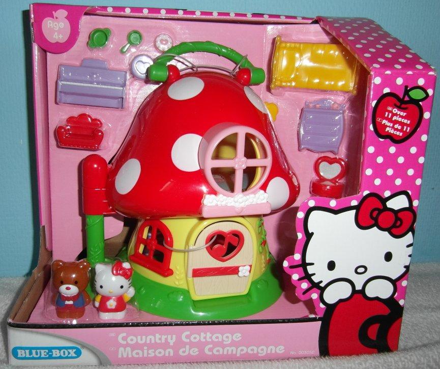 Maison champignon - Collection Hello Kitty