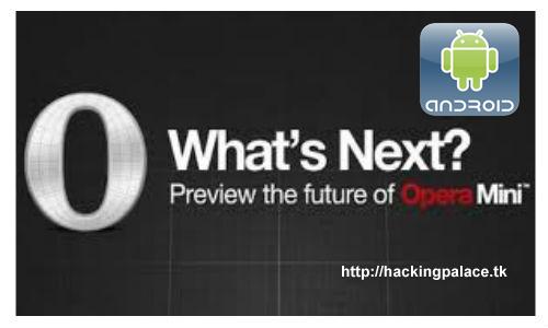 download opera mini free internet apk