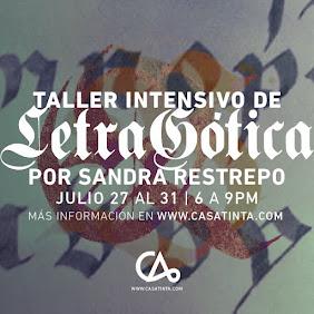 TALLER INTENSIVO DE LETRA GÓTICA