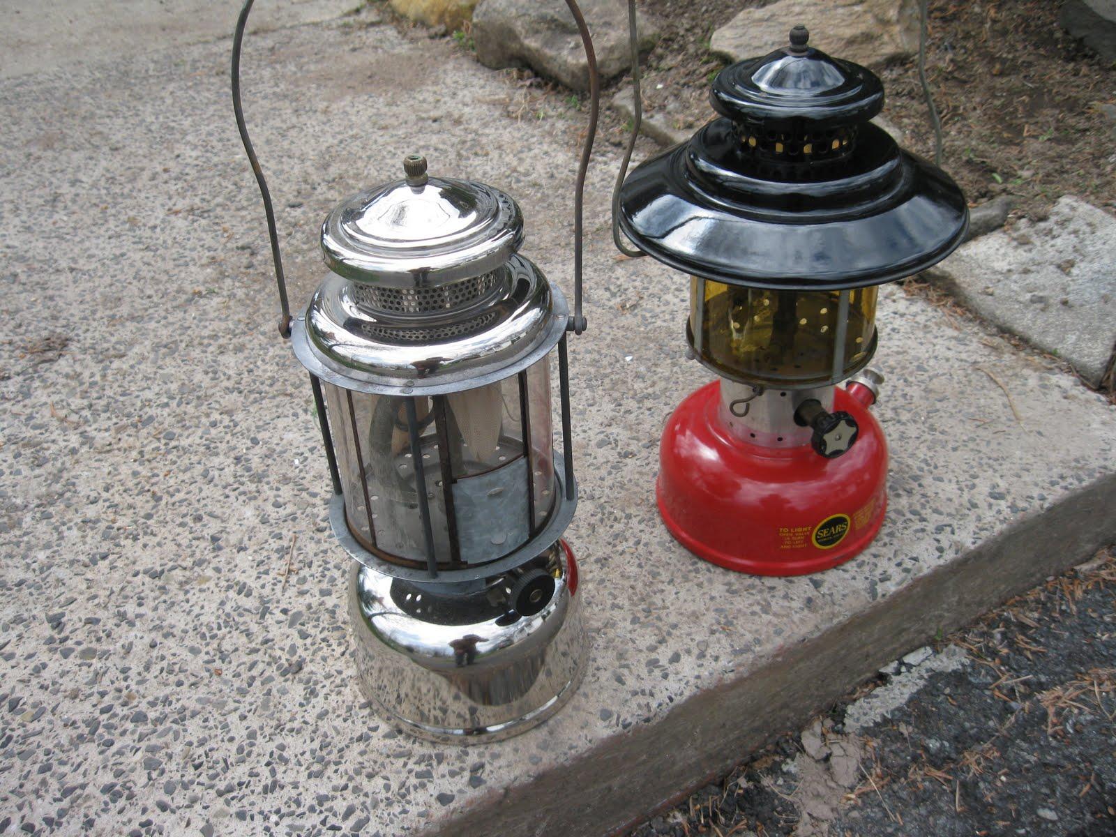 american gas machine lantern parts