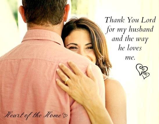 I Thank God For You My Husband