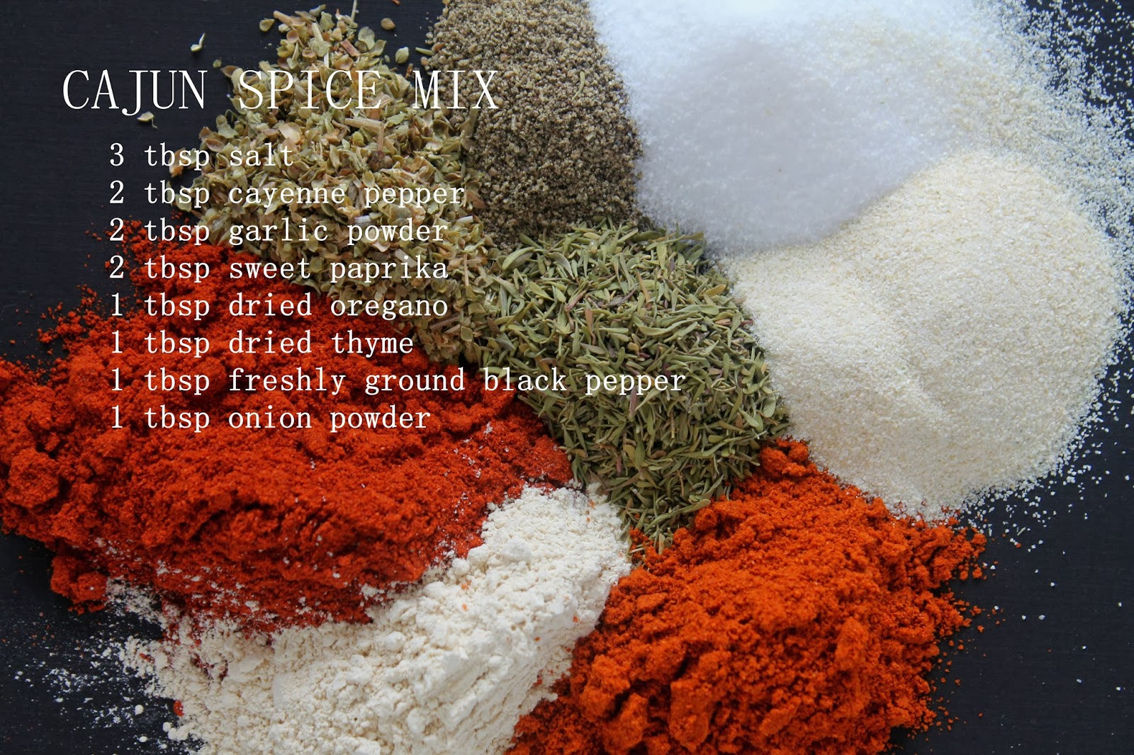 the savvy girl's guide to life: Cajun Spice Mix