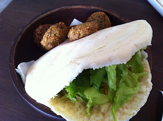 Regular Falafel, the ingredient is free to mix and match on your own