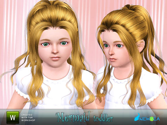 sims 3 how to change mermaid hairstyle
