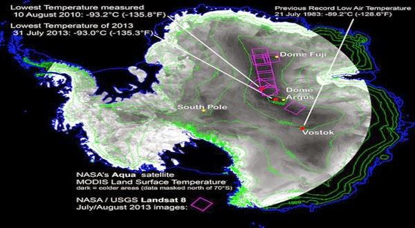 Ilmuwan Menemukan Tempat Terdingin di Bumi