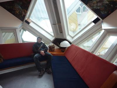 Dentro de las Casas Cúbicas de Rotterdam