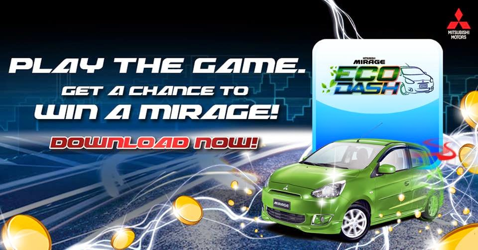 Mitsubishi PH Mirage Eco Dash game app