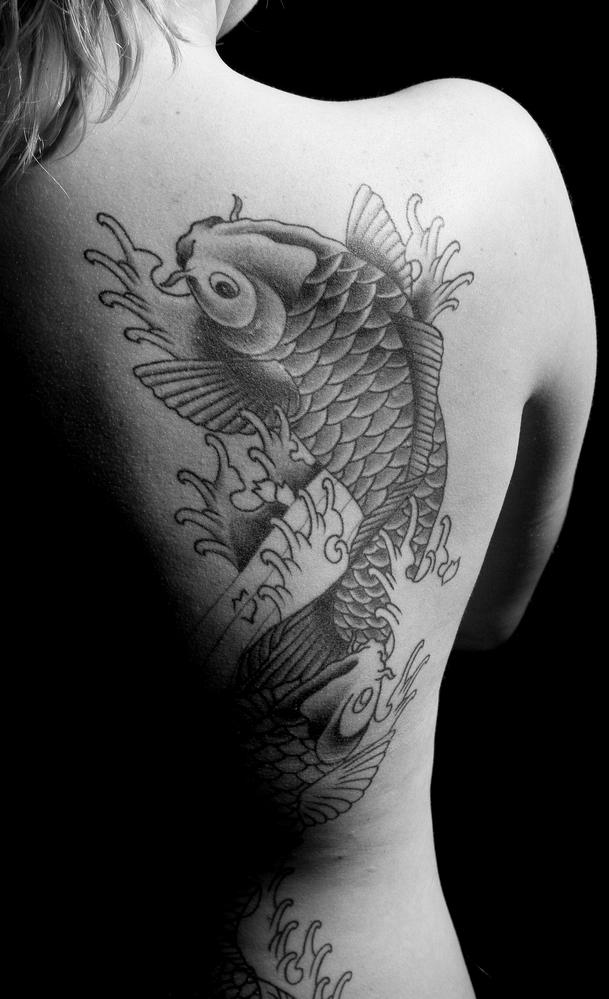 Koi Fish Tattoos Pictures