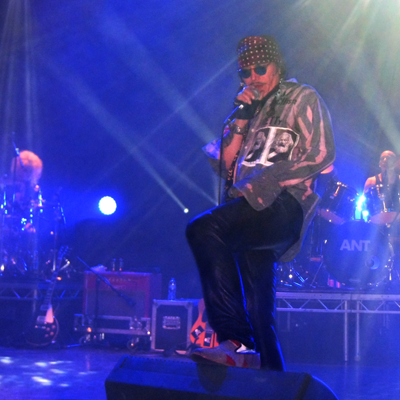 Adam Ant in concert, Hammersmith Apollo, London 19apr2014.